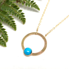 Load image into Gallery viewer, Turquoise - Jupiter Necklace