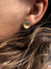 Load image into Gallery viewer, Larimar - Mandala Studs