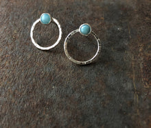 Load image into Gallery viewer, Larimar - Jupiter Studs