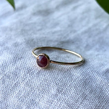 Load image into Gallery viewer, Birthstone Ring - July | Ruby