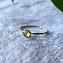 Load image into Gallery viewer, Birthstone Ring - August | Peridot