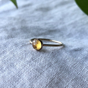 Birthstone Ring - November | Citrine
