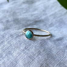 Load image into Gallery viewer, Birthstone Ring - December | Turquoise