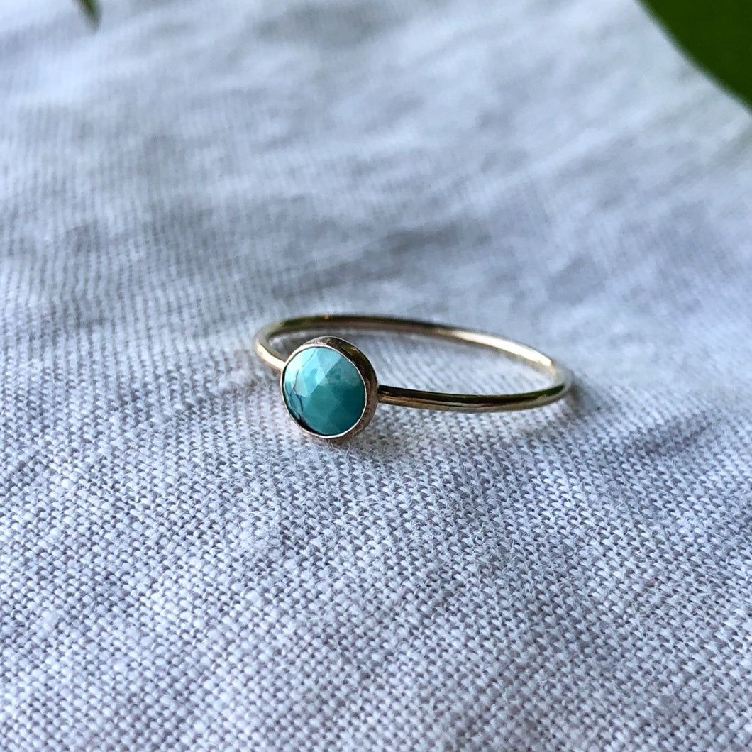 Birthstone Ring - December | Turquoise