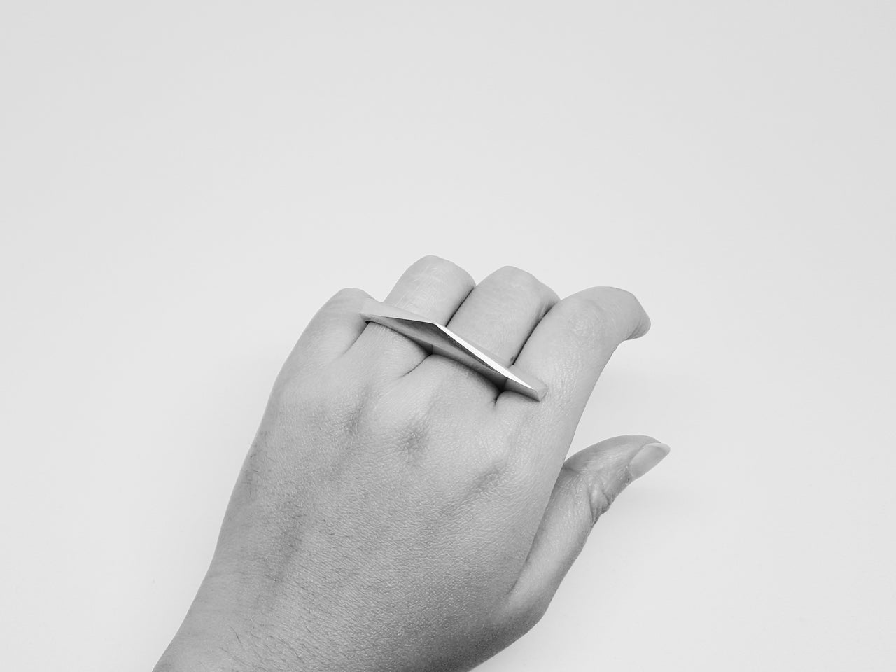 FACET RING 2.1.SILVER
