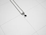 BASIN NECKLACE 2.3.SILVER