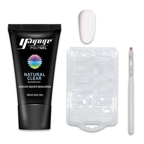 KIT RÉVOLUTIONNAIRE D'EXTENSIONS D'ONGLES AU POLYGEL