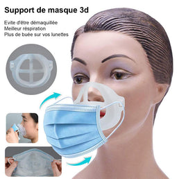 5 supports masques 3D