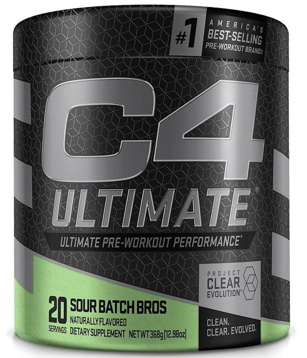 Cellucor C4 Ultimate pre-workout