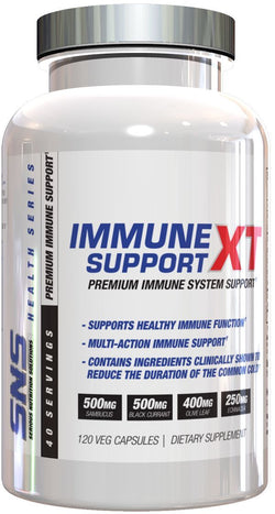 SNS Serious Nutrition Solutions Immune Support XT 120 Veg Caps