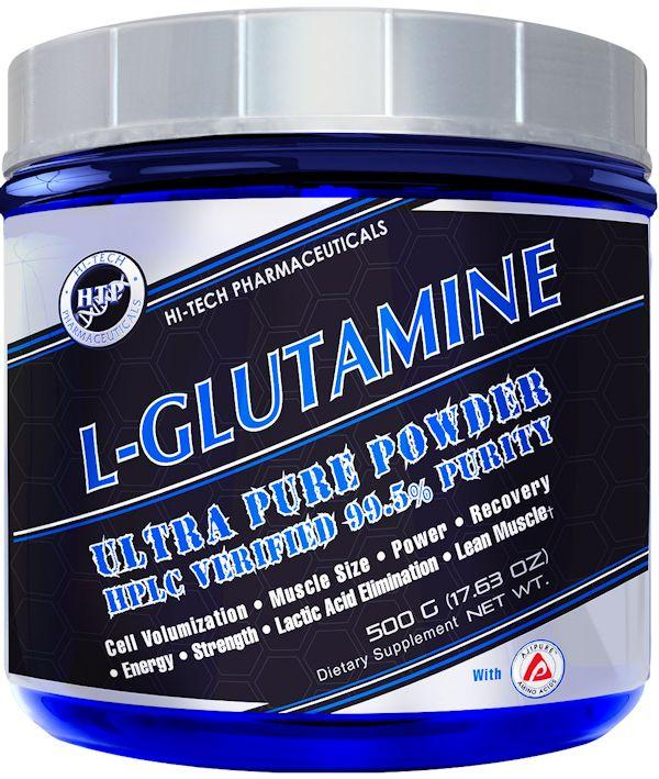 Hi-Tech Pharmaceuticals L-Glutamine 500 gm 100 servings