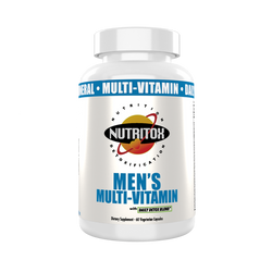 Nutritiox Men's Multi-Vitamins 60 veg Caps