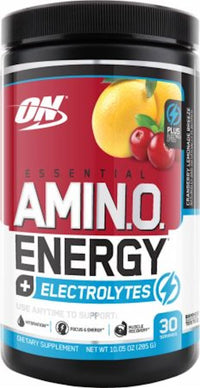 Optimum Nutrition Amino Energy plus Electrolytes cranberry