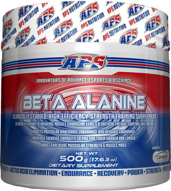 APS Nutrition Improve Wrkout APS Nutrition Beta Alanine 250 servings