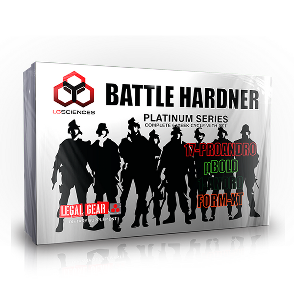 LG Sciences Battle Hardener Kit 6 weeks CLEARANCE SALE