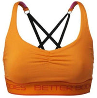 Better Bodies Women's Clothing Better Bodies Athlete Short Top Bright Orange