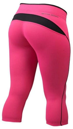 Better Bodies Shaped 3/4 Tights Hot Pink (code: 20ff)