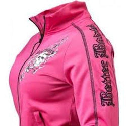 Better Bodies Women's Flex Jacket Hot Pink (Discontinue Limited Supply) (code:20off)