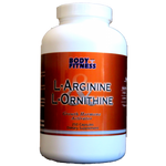 Body and Fitness Amino Acids Body & Fitness L-Arginine & L-Ornitine 750 mg 250 cap