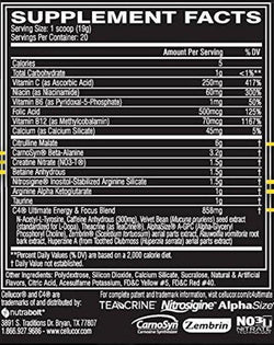 Cellucor C4 Ultimate 20 serving