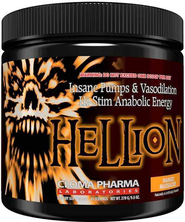 Cloma Pharma Pre-Workout Razzberry Scream Cloma Pharma Hellion
