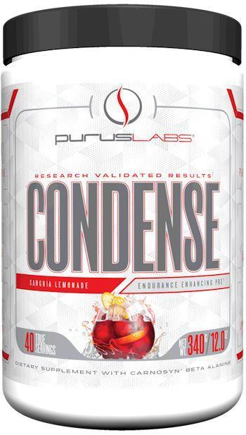 Purus Labs Muscle Pumps Crisp Green Apple Purus Labs Condense 40 servings