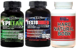 EPG Epilean Testoshred with FREE Hard Natural Body