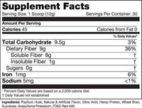 Species Nutrition Health Species Nutrition Fiberlyze 30 servings