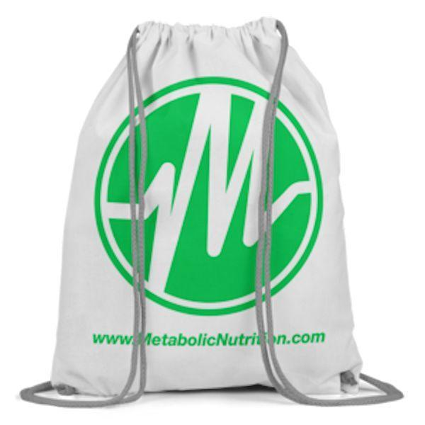 FREE Free With Purchase Metabolic Nutrition Drawstring Bag FREE with and Pre-Workout Purchase
