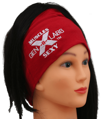 GenXLabs Accessories Beannie Red GenXLabs Workout Cotton Hair Beanie  (save20)
