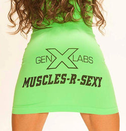 GenXLabs Muscles-R-Sexy Tube Dress (Discontinue Limited Supply)