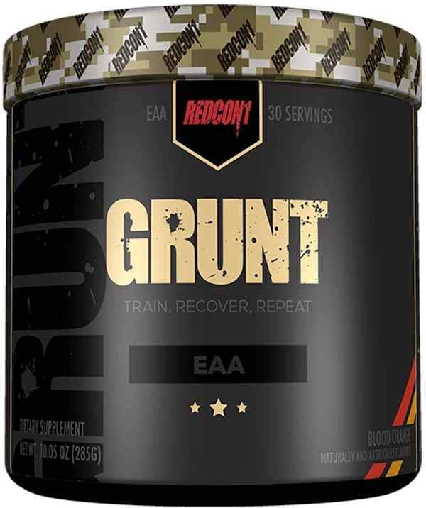 Redcon1 BCAA BLOOD ORANGE Redcon1 Grunt 30 servings
