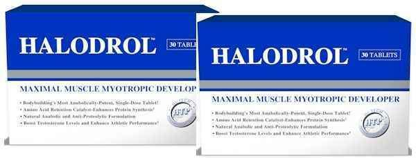 Hi-Tech Pharmaceuticals Hardcore Hi-Tech Pharmaceuticals Halodrol double pack
