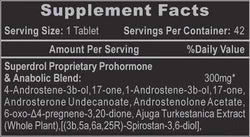 Hi-Tech Pharmaceuticals Superdrol 42ct CLEARANCE SALE