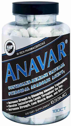 Hi-Tech Pharmaceuticals Anavar 180ct