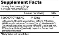 Insane Labz Beta-alanine Insane Labz Psychotic 35 servings