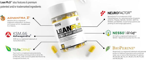Man Sports Lean Ph.D weight loss