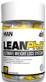 Man Sports Lean Ph.D