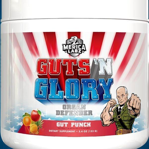 Merica Labz Pre-Workout Gut Punch Merica Labs Guts N Glory