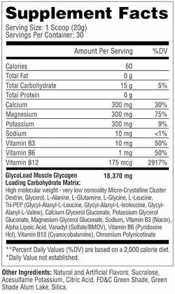 Metabolic Nutrition GlycoLoad 30 servings (code: 25off)
