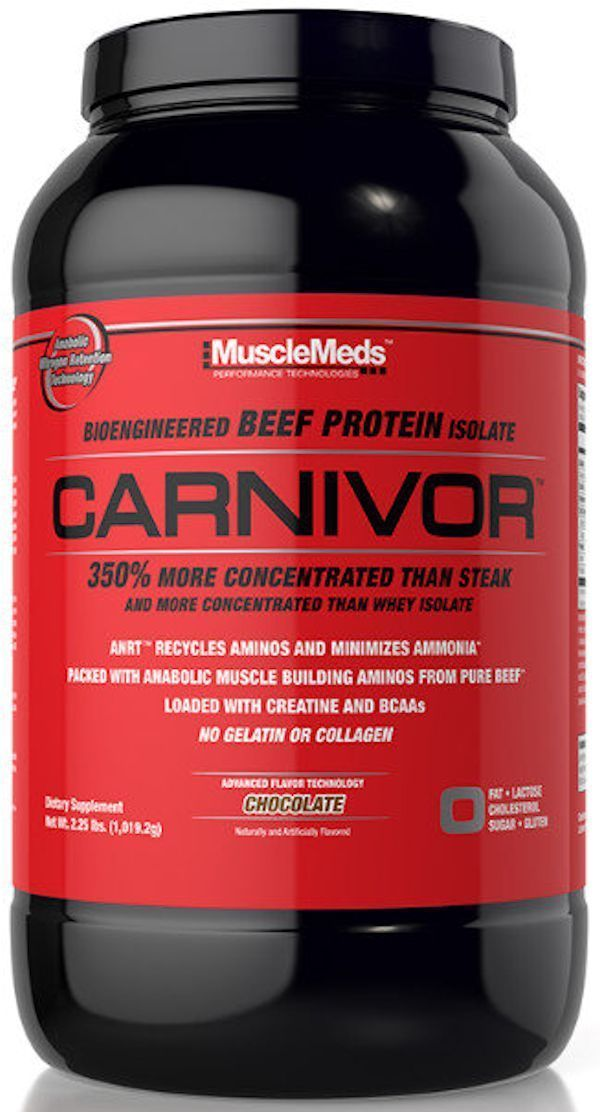 MuscleMeds Protein Chocolate MuscleMeds Carnivor Shred 2lbs