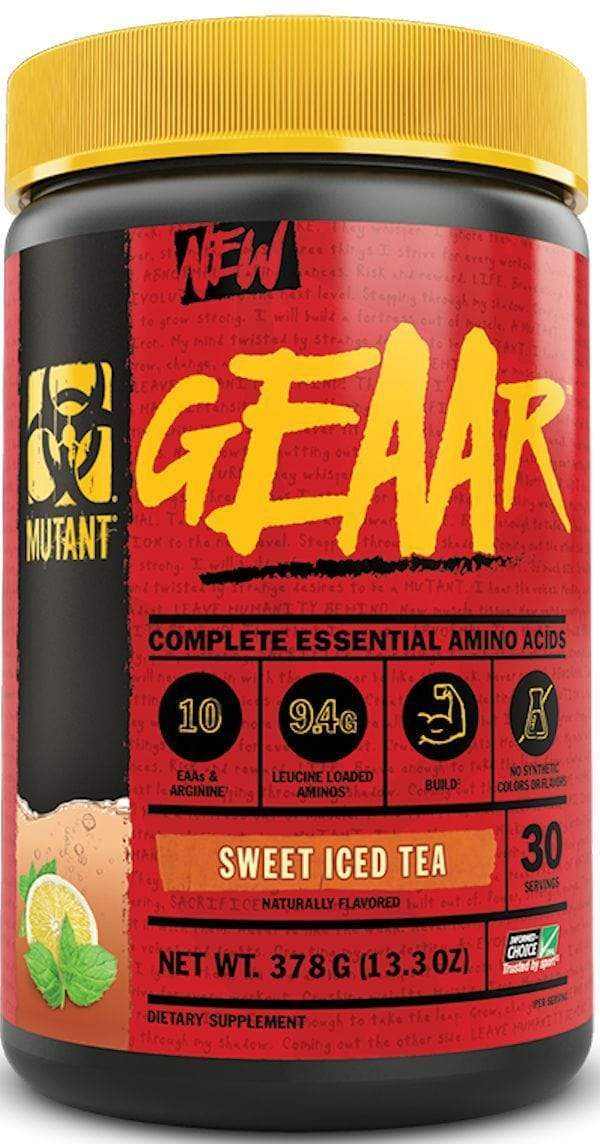 Mutant geaar bcaa Sweet Iced Tea Mutant Nutrition Geaar 30 servings