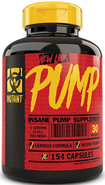 Mutant Nutrition Muscle Pumps Mutant Pump 154 Capsules