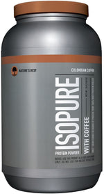 Nature's Best Protein Colombian Nature's Best Isopure with Coffee  3 lbs