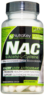 Nutrakey Liver Support Nutrakey NAC 60 caps