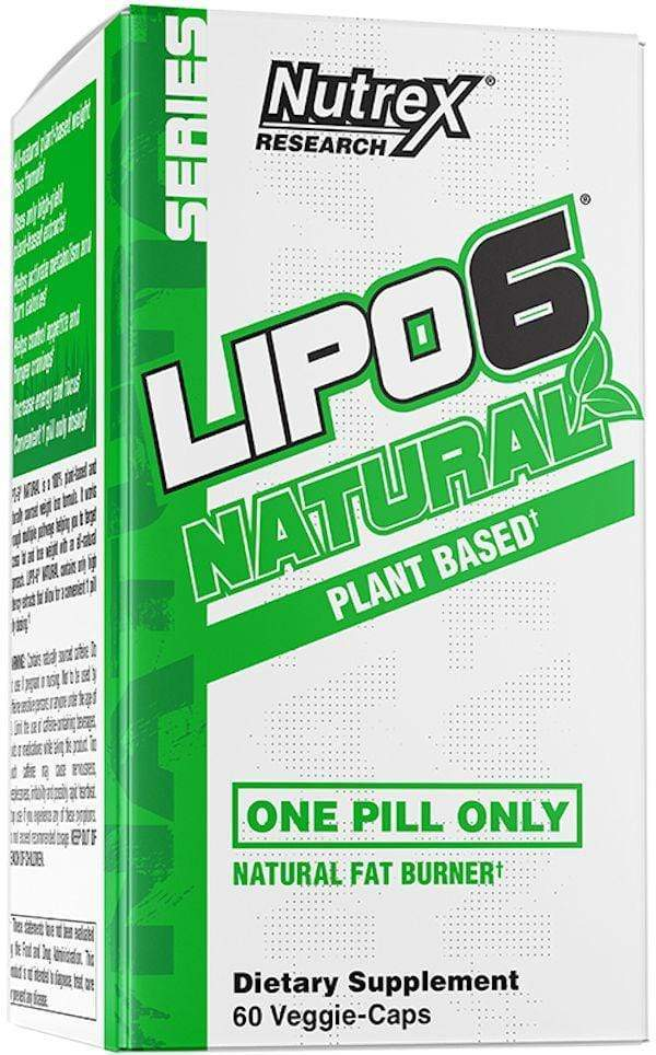 Nutrex Research Appetite Control Nutrex Lipo 6 Natural 60ct