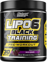 Nutrex Research Glycerol Nutrex Lipo 6 Black Training 30 servings