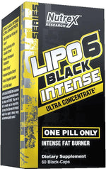 Nutrex Research Weight Loss Nutrex Lipo-6 Black Intense 60 caps