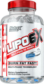 Nutrex Research Weight Loss Nutrex Lipo 6X 120 caps
