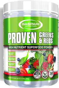 Gaspari Nutrition Proven Greens and Reds